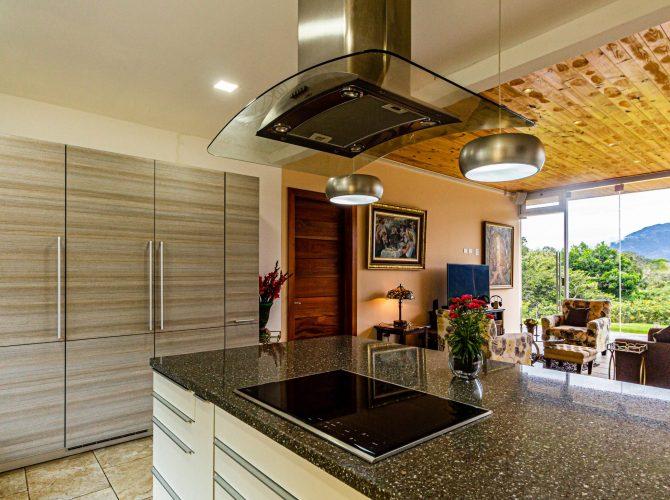 Kitchen Hood Installation